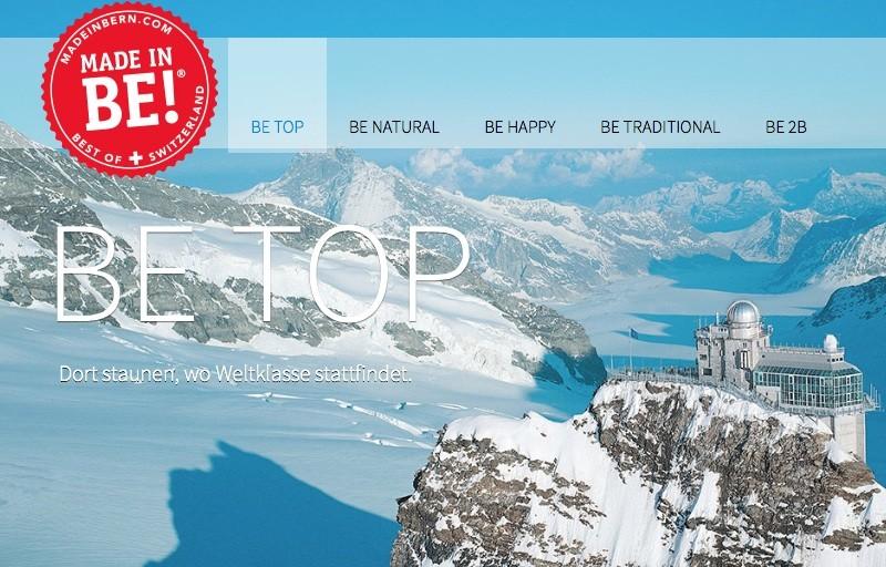 Made in BE, Кантон Берн, Туризм в Швейцарии, Швейцария Туризм, Гарри Джон, Гштаад, Интерлакен, Юнгфрау, Гриндельвальд, Адельбоден, Gault Millau, Туризм в Швейцарию, www.business-swiss.ch