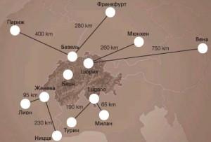 страна Швейцария на карте мира Швейцария на карте Страна Швейцария на карте мира ch 2