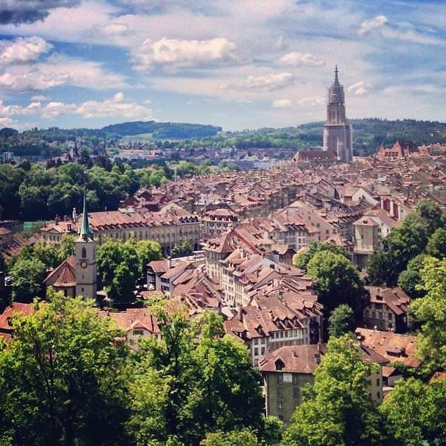 Берн город Швейцария
