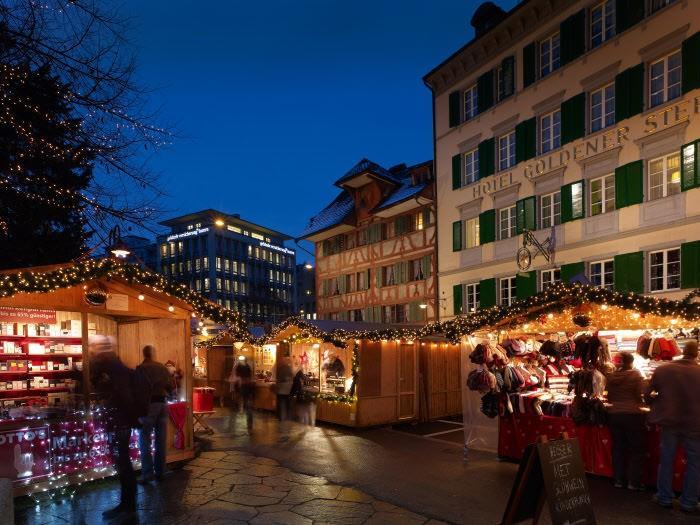 Рождество в Швейцарии Люцерн Люцерн (город) rozhdestvo v shvejtsarii lucerne