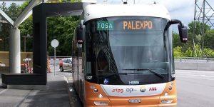 автобусы с беспроводной зарядкой Женева Женева (город) avtobusy s besprovodnoj zaryadkoj