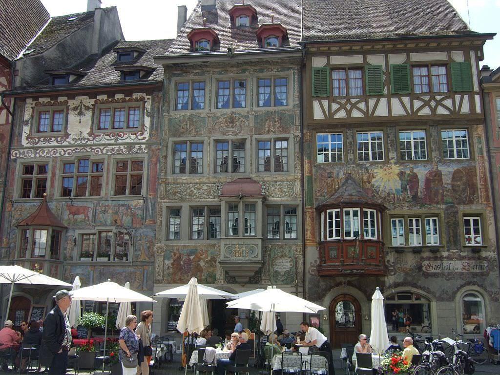 Штайн-ам-Райн Штайн-ам-Райн Штайн-ам-Райн (город в Швейцарии) Stein am Rhein Altstadt