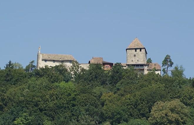 замок Хохенклинген Штайн-ам-Райн Штайн-ам-Райн (город в Швейцарии) Burg Hohenklingen
