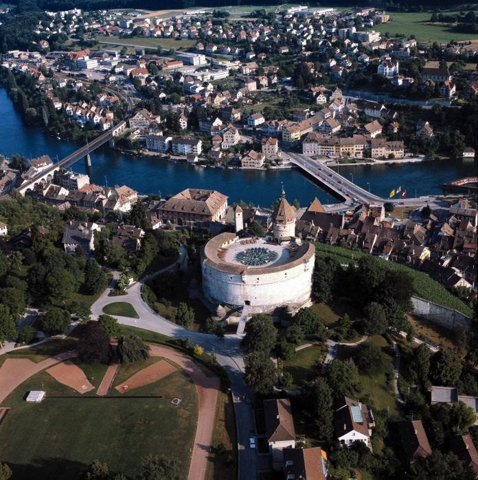 Столица кантона и крепость Мунот Шаффхаузен Шаффхаузен shaffhauzen gorod
