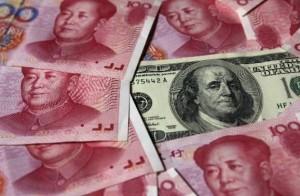 евро и юань
