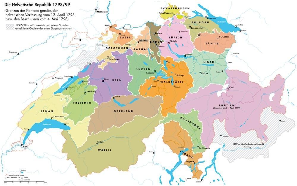 старые кантоны Швейцарии сканворд