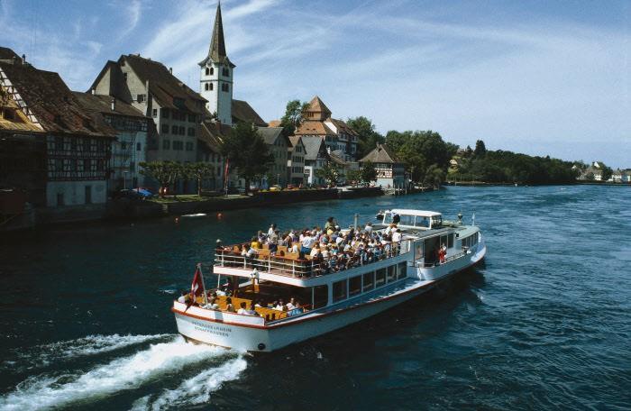 Диссенхофен на реке Рейн