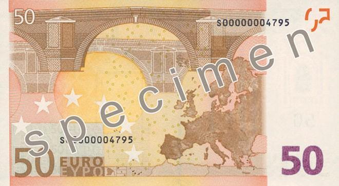 старые 50 евро