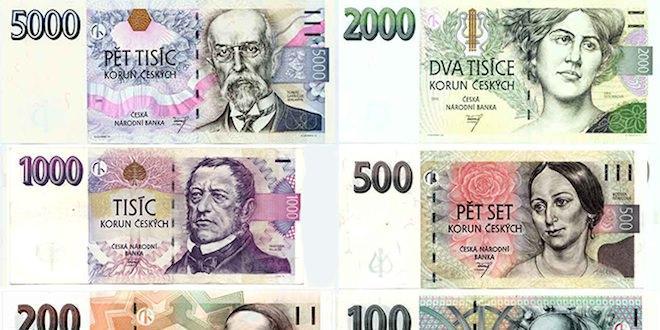 чешская крона евро