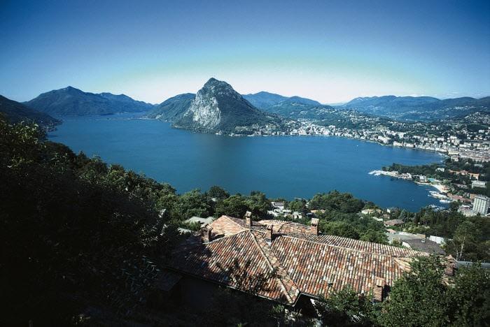 Монте Бре Озеро Лугано