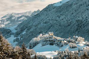 снег в Швейцарии