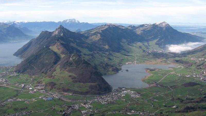 Риги гора в Швейцарии