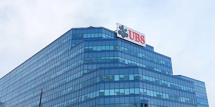 UBS США