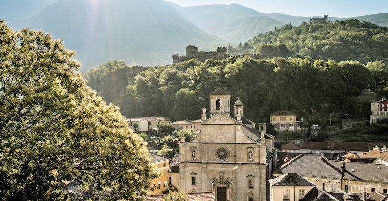 Беллинцона город Швейцария