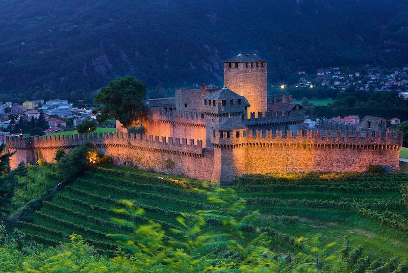 замок Монтебелло Беллинцона