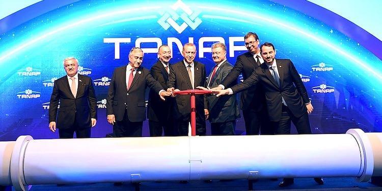 Азербайджанский газ TANAP