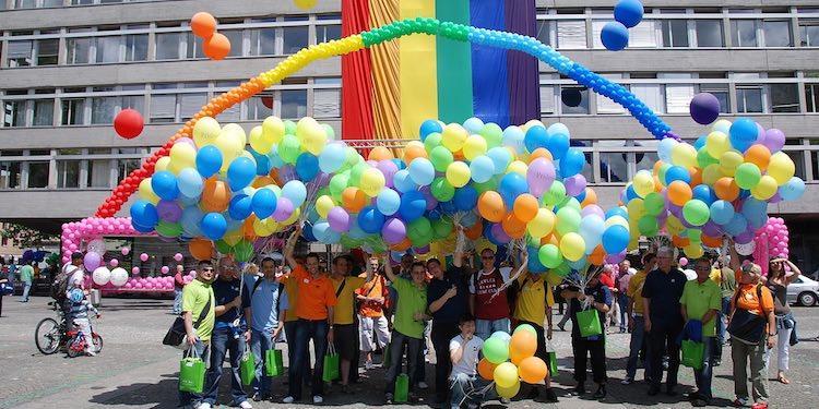 Zurich Pride Festival Фестиваль гордости в Цюрихе