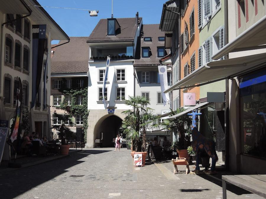 старый город Ленцбург