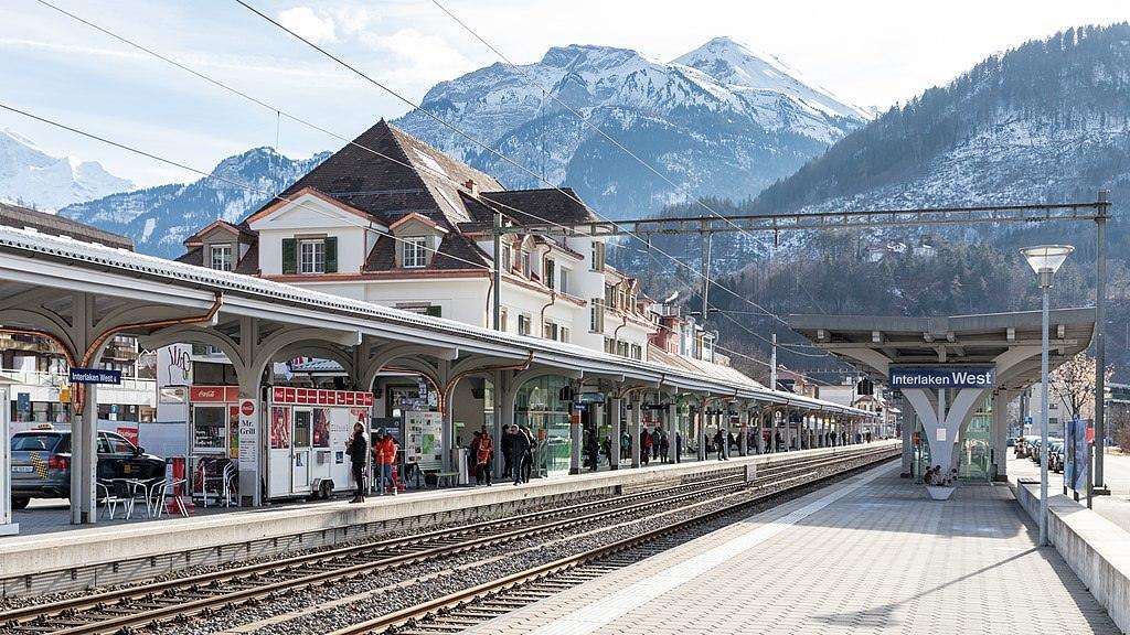 Вокзал Interlaken West