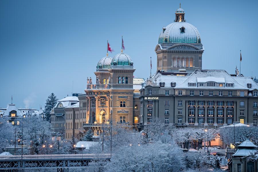 Бундесхаус Федеральный дворец Берн