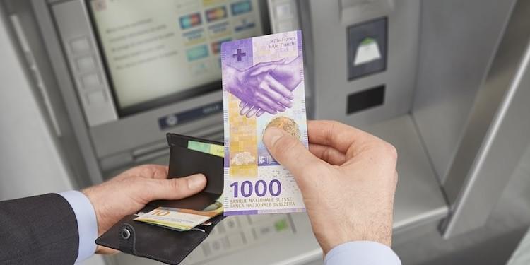 Купюра 1000 франков
